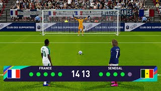 PES 2021 France vs Senegal Penalty Shootout Gameplay PC Mane vs Griezmann