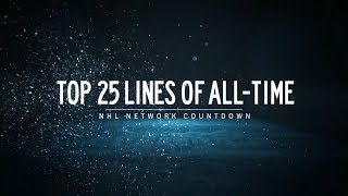 NHL Network Countdown: Top 25 Lines of All-Time