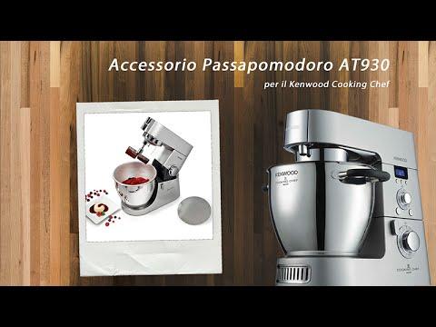 ♨ Accessorio Passapomodoro Passaverdure AT930 Kenwood Cooking ...