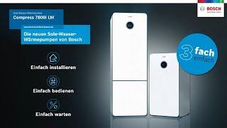 Einfach effizient: Die neue Compress 7800i LW von Bosch