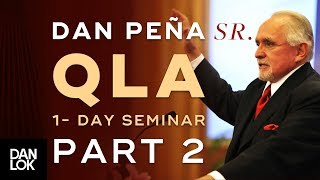Dan Peña, Sr. QLA One Day Seminar at Heathrow Part 2