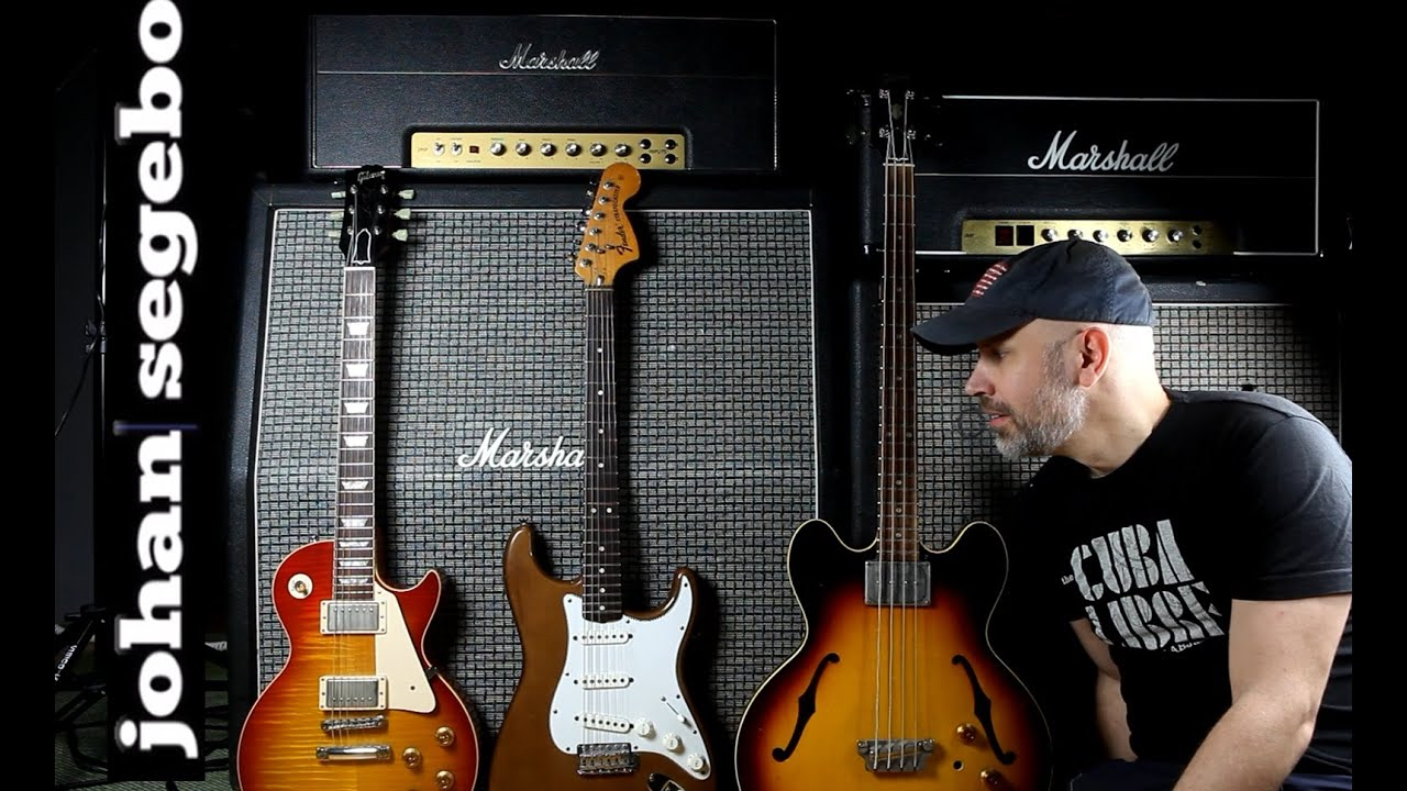 marshall 1959hw handwired plexi blues jam les paul strat and bass youtube. Black Bedroom Furniture Sets. Home Design Ideas