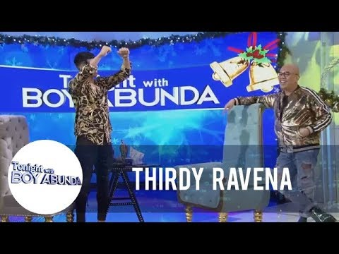 TWBA: Thirdy Ravena shows some moves in TWBA stage