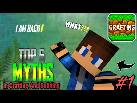 Top 6 Mythbusters In Crafting And Building | Crafting And Building Myths | #1
