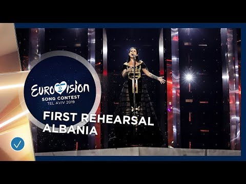 Albania 🇦🇱 - Jonida Maliqi - Ktheju tokës - First Rehearsal - Eurovision 2019