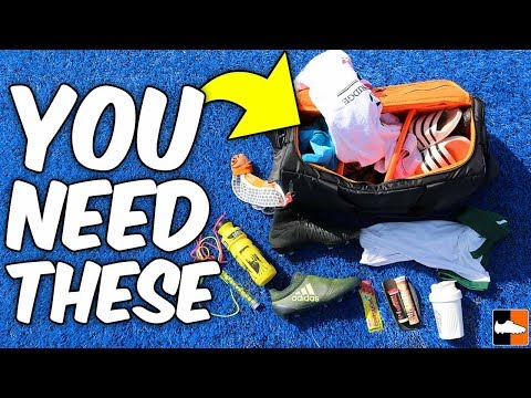 Top 10 Must Haves For My Football Bag