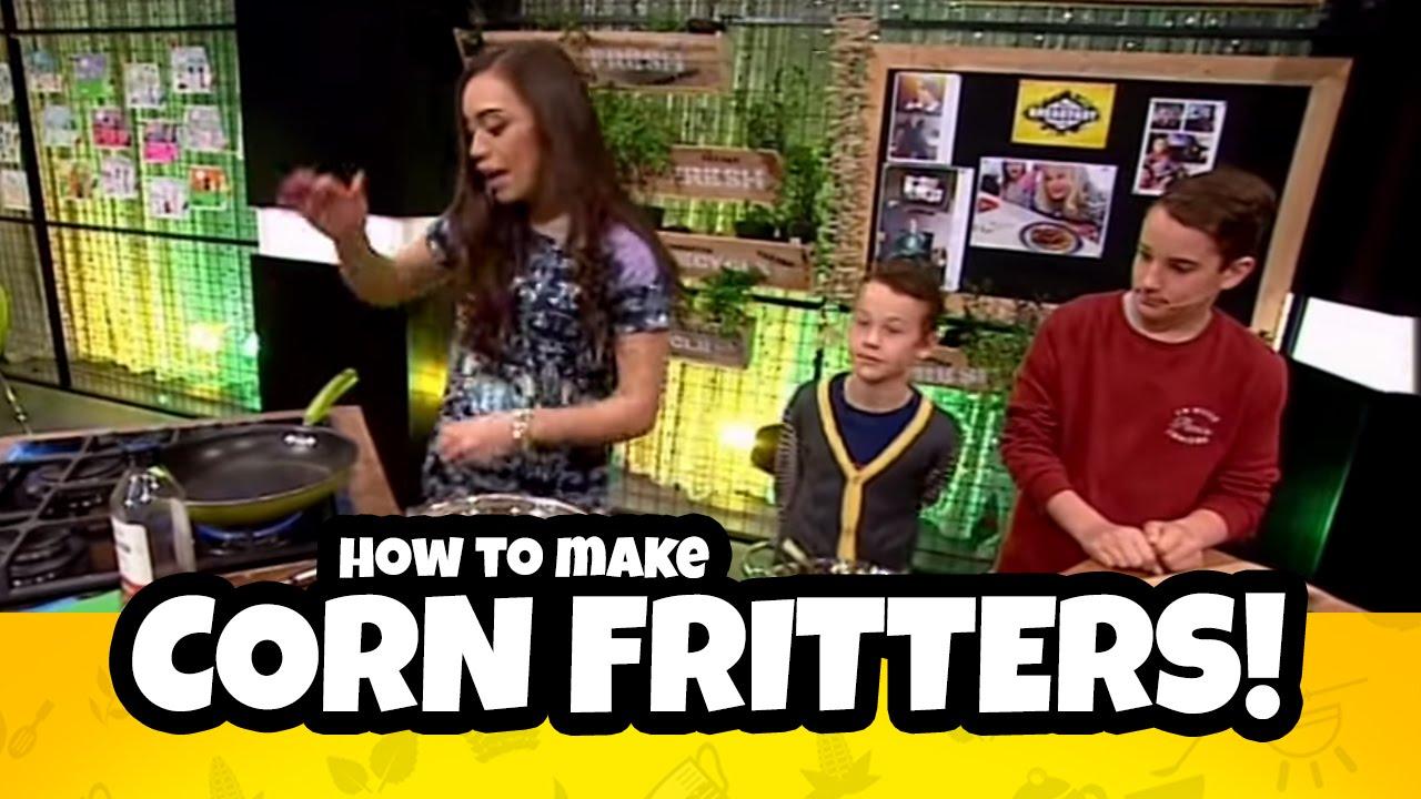 Corn Fritters | Bee's Breakfast Club - YouTube