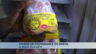 Viande en provenance du Brésil : le Bénin en alerte