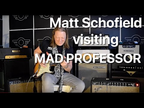 Mad Professor pedals played by Matt Schofield