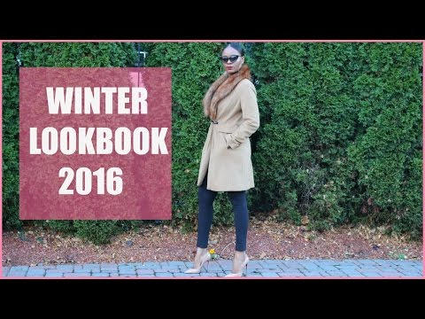 WINTER LOOKBOOK 2016 | STYLING FASHION TRENDS!
