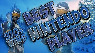 Fortnite Best Nintendo Switch Player 970+ Wins (SKI SKINS ARE BACKKKKKK)