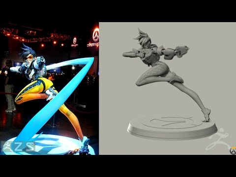 Official ZBrush Summit 2016 Presentation - Blizzard Entertainment