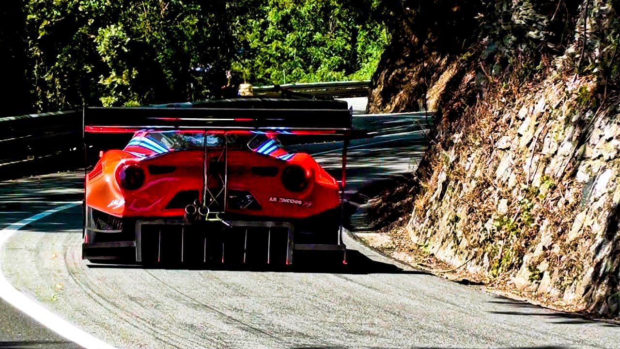 Marco Gramenzi | Alfa 4C Turbo - Reventino 2016 - YouTube