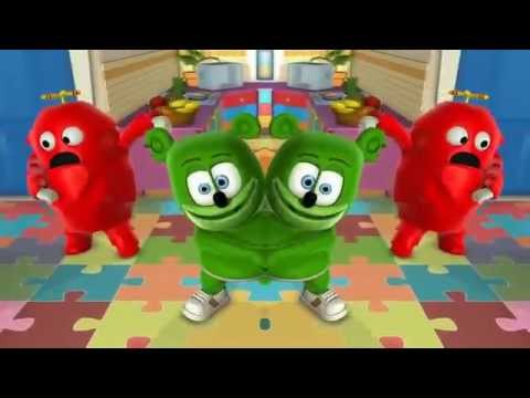 Gummibär Gachapin Mukku MIRRORED GGM Japanese Gummy Bear Song