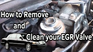 EGR Valve Removal & Cleaning