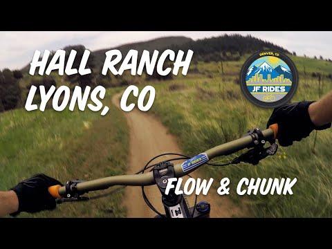 Mountain Biking Hall Ranch - Lyons, CO MTB FLOW And CHUNK