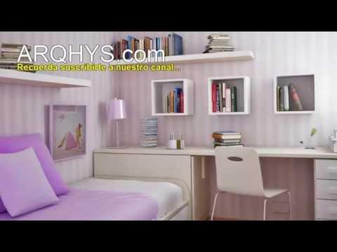 Como organizar y decorar tu habitacion diy doovi - Como amueblar una habitacion pequena ...