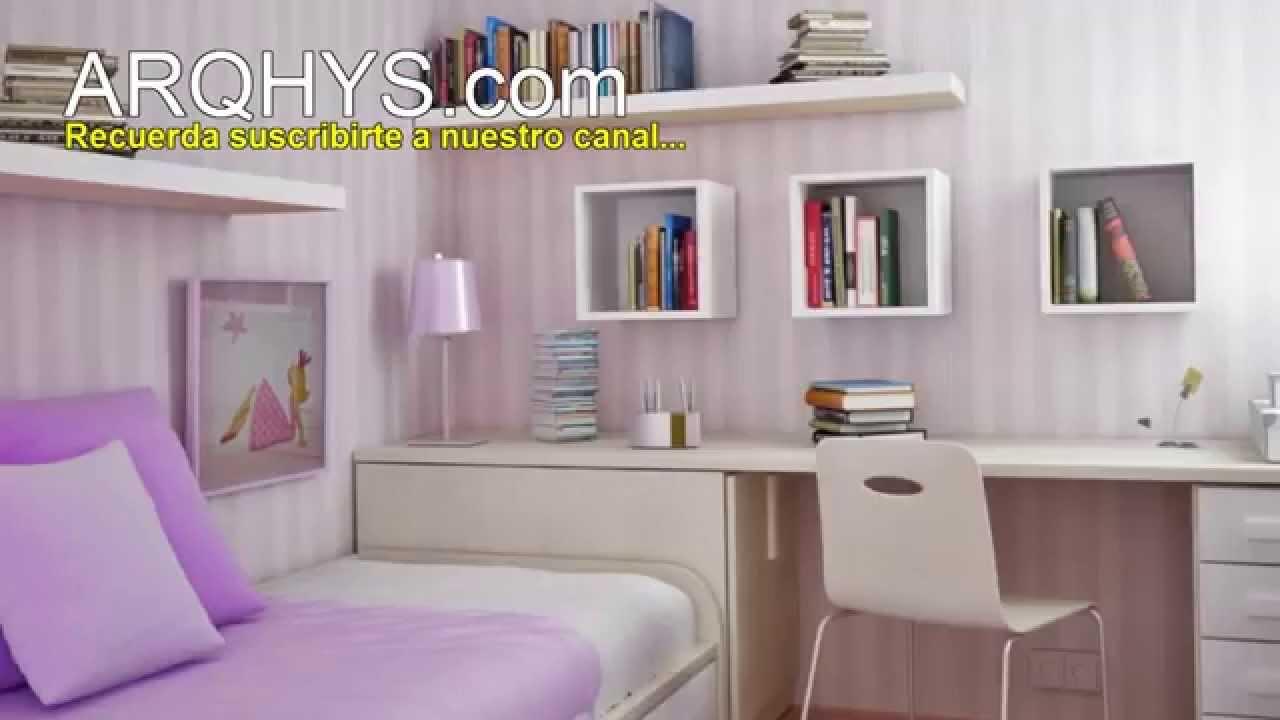 Como organizar una habitacion peque a ideas y consejos - Como pinto mi habitacion ...