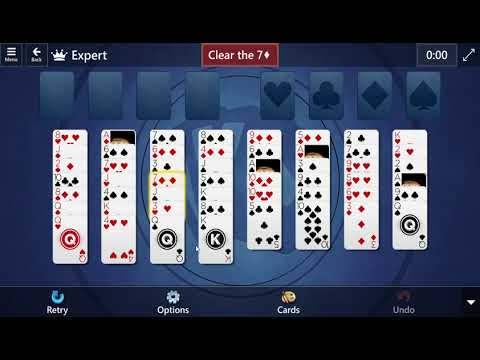 Microsoft Solitaire Collection FreeCell Expert Daily Challenge June 11, 2021