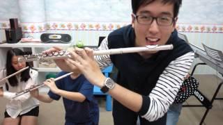Happy- Pharrell Williams cover   Vanilla flute ensemble