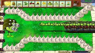 Amazing 999 Gatling Pea Zombie Vs Gatling Pea Epic Hack Popcap 100%