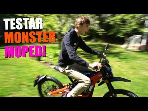 Testar → MONSTER MOPED! (Sur-Ron Electric Dirt Bike)