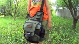 Обзор ребенка и его рыболовной сумки Ideafisher Скаут :)