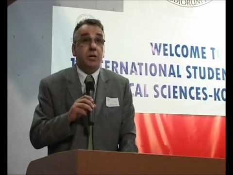 Enver Hasani, University of Prishtina, Rector,  KISCOMS I / KOSOVO 2008.wmv