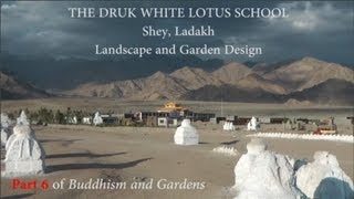 Landscape architecture for a Buddhist school in Ladakh, India