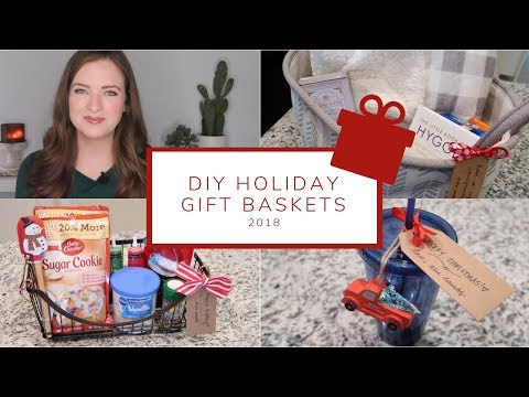 5 Easy DIY Christmas Gift Basket Ideas | Holiday Gift Guide