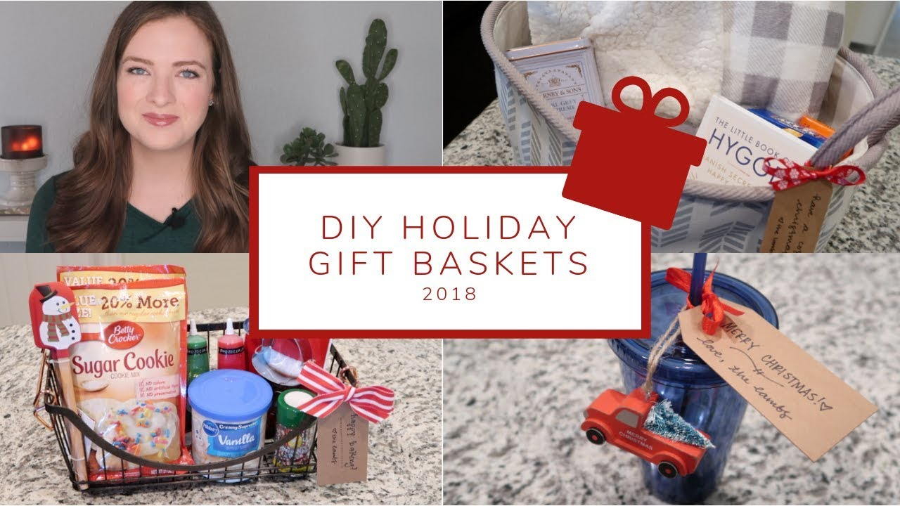 5 Easy Diy Christmas Gift Basket Ideas Holiday Gift Guide 2018