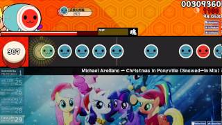 Osu Taiko Christmas In Ponyville Snowed In Mix Insane S
