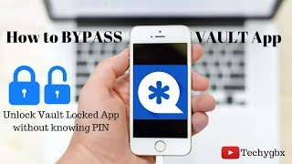 How to Bypass Vault App lock easily without knowing Pin. Unlocked Vault locked App.|By Techygbx