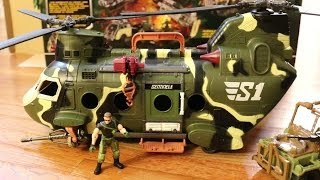 True Heroes Military Toy Soldiers, Helicopter & Jeep (Part 2 of 2)