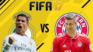 FIFA 17 | DEMO | Pierwszy mecz | REAL MADRYT VS BAYERN MONACHIUM | Oddajcie stare karne!
