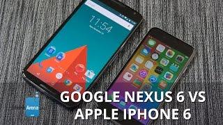 Google Nexus 6 vs Apple iPhone 6