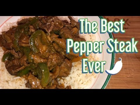 Cuttin Up With Bae: QUICK EASY PEPPER STEAK TUTORIAL With Chef Bae