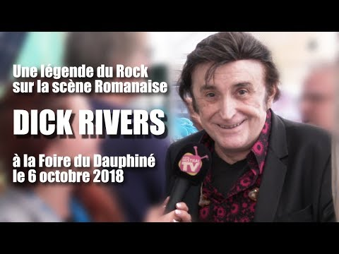 Dick Rivers à la Foire du Dauphiné