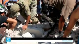 """الأسد يؤدي صلاة العيد في داريا ويؤكد على """"استعادة الأراضي من الإرهابيين"""""""