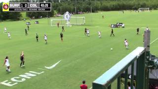 2015 ECNL Finals: Real Colorado vs. San Diego Surf - U17 - Field 3 - 11am