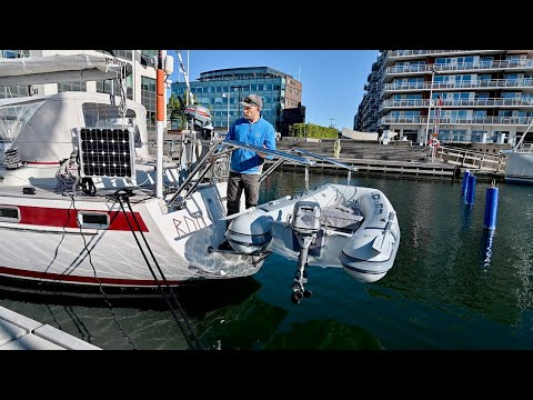 We Found The PERFECT DAVITS For Our Dinghy - Ep. 202 RAN Sailing