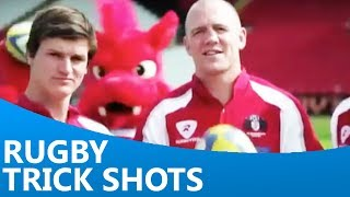Gloucester's Rugby Trick Shots