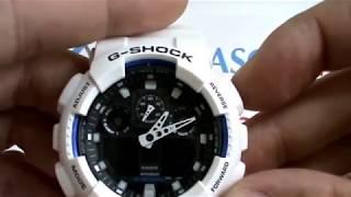 Як налаштувати Casio G-Shock GA-100B-7A огляд і Відео інструкція від IMchasov.Ru
