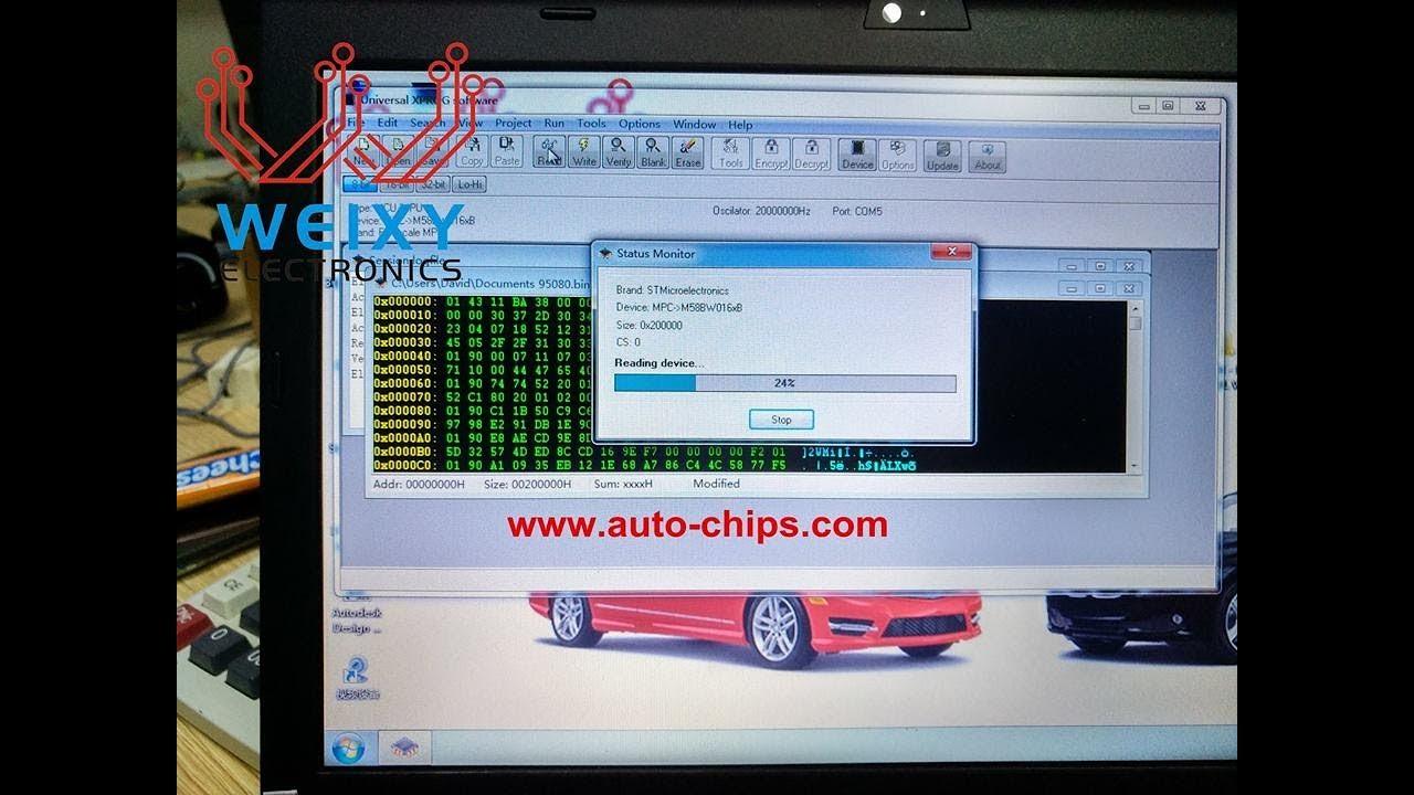 Clone Mercedes ME9 7 ECU