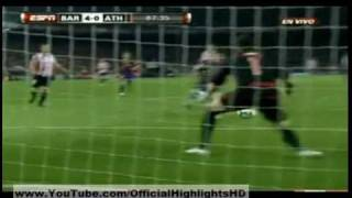 fc barcelona vs athletic bilbao 4 1 03 4 2010 all goal and highlights hd