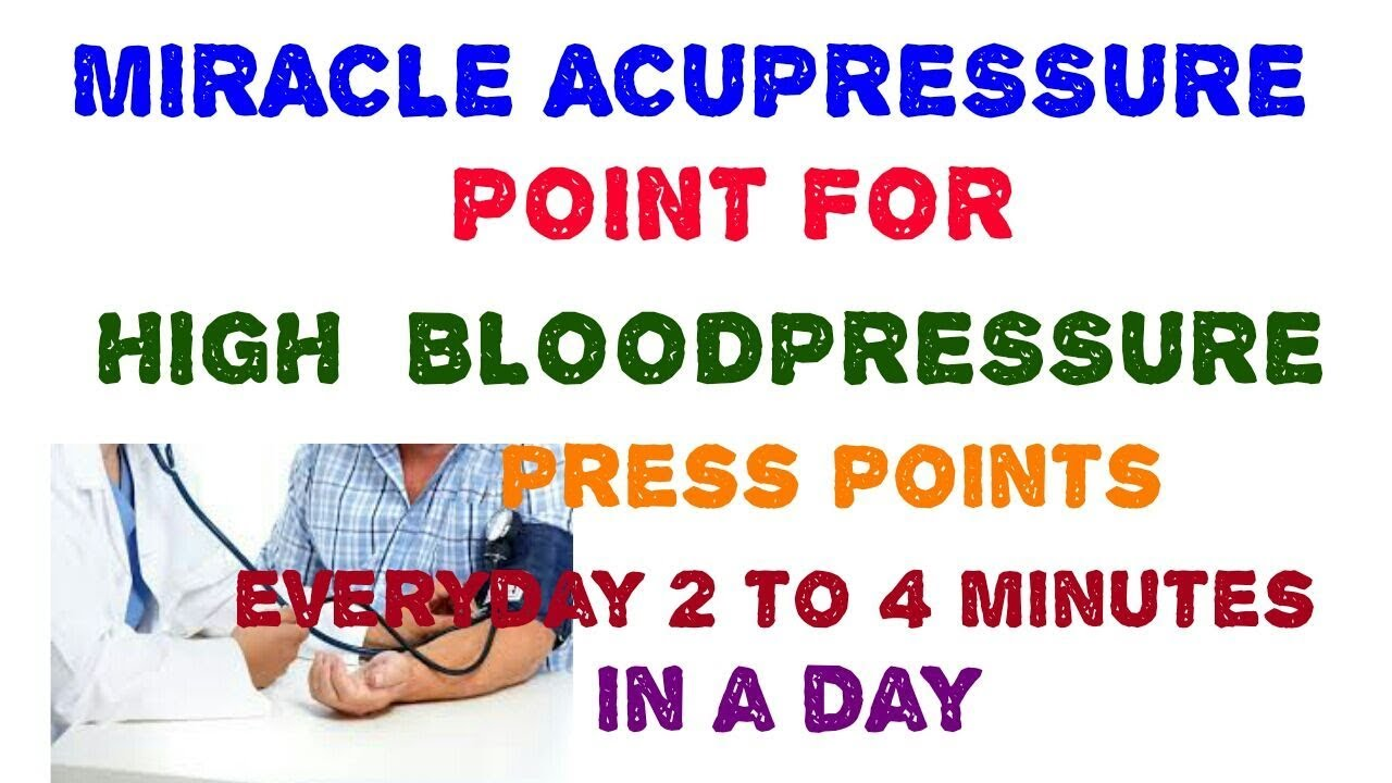 • Best Acupressure Treatment for High Blood Pressure by Gaurav sir