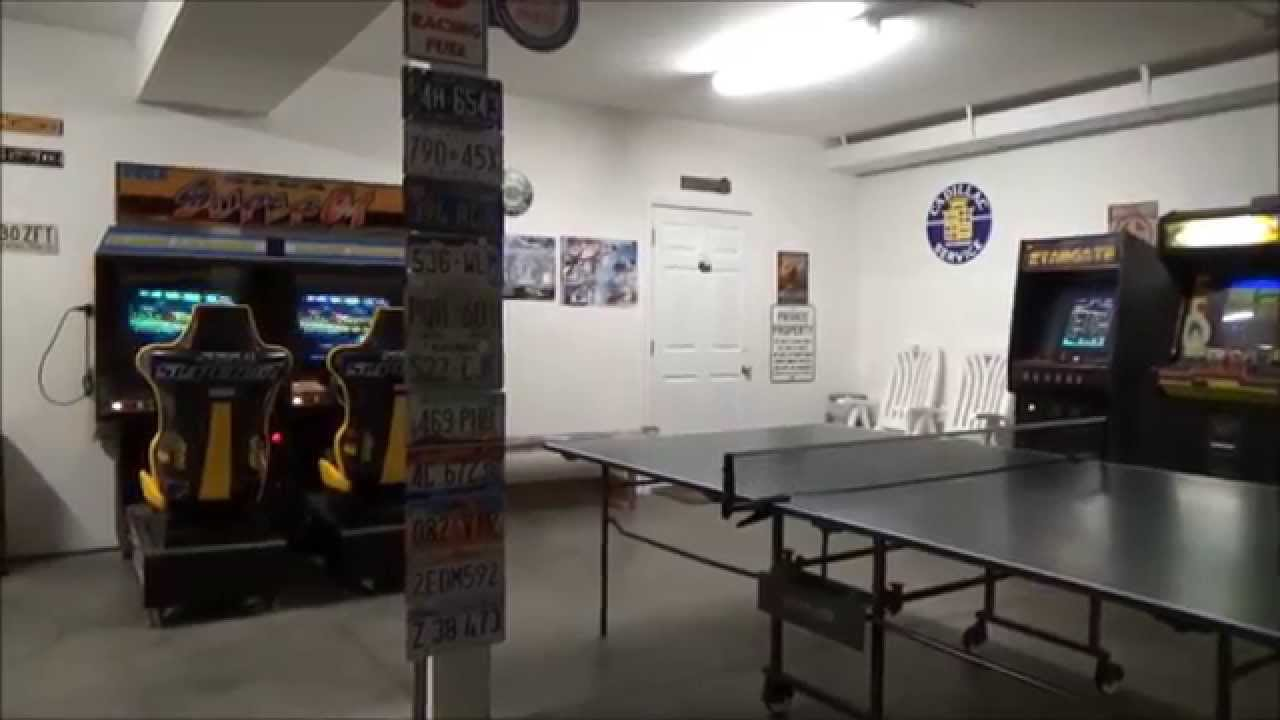 Game Room Arcade And Garage Movie