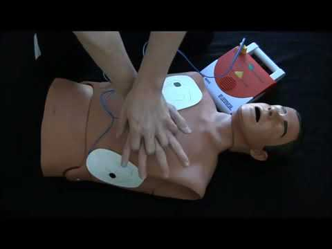 AED Training Video Adult New guidelines 2010 CPR Automated External Defibrillator How to video
