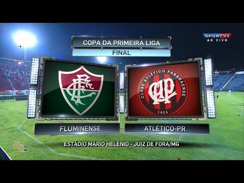 Jogo completo Fluminense 1 x 0 Atlético-PR - Final Primeira Liga 2016