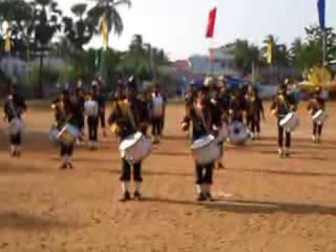 st.joshep's college band display 2014 song 1